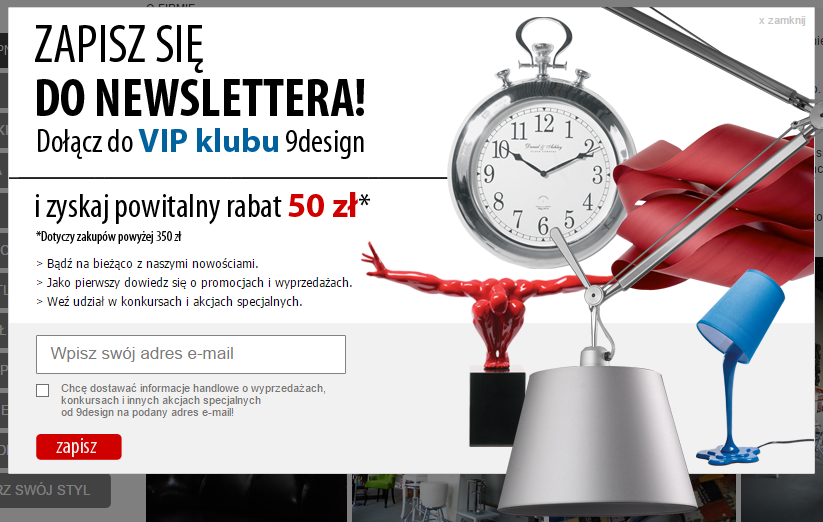 9design.pl - newsletter