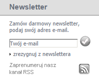 ButyRaj - zapis do newslettera