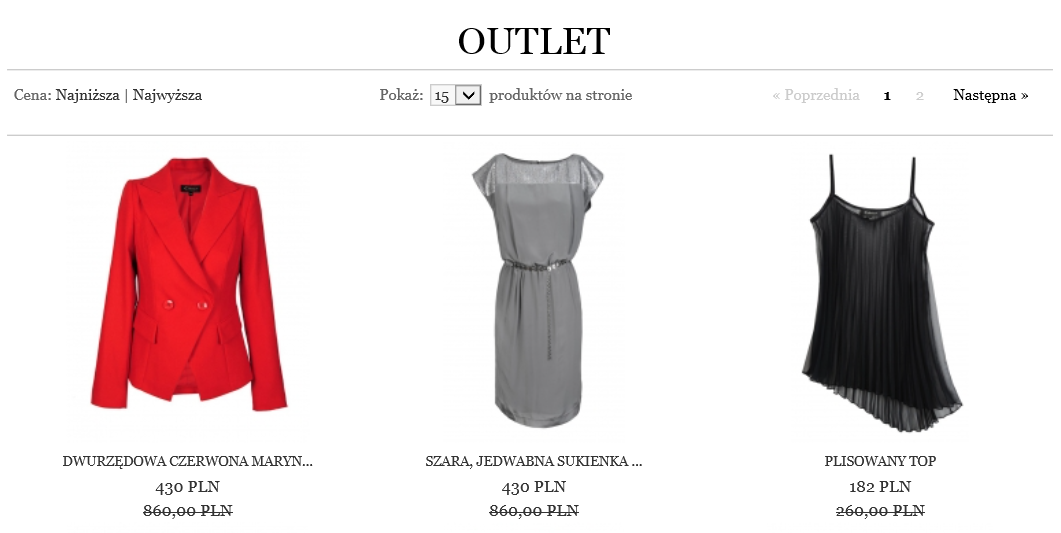 Caterina.pl - outlet