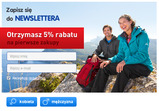 InterSport.pl - newsletter