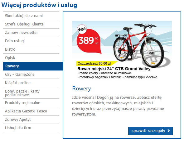TESCO - sklep on-line