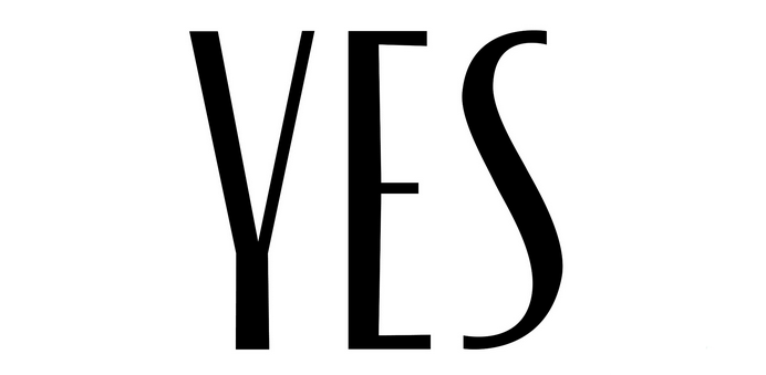 YES - logotyp
